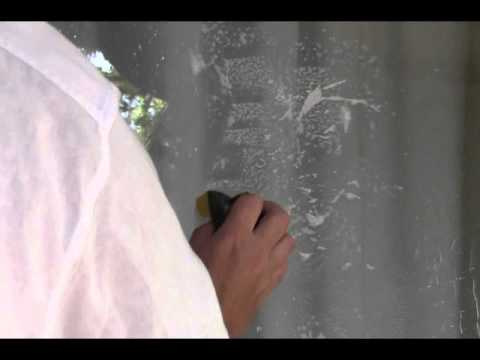 How to Remove Cement or Stucco from Windows and Panes