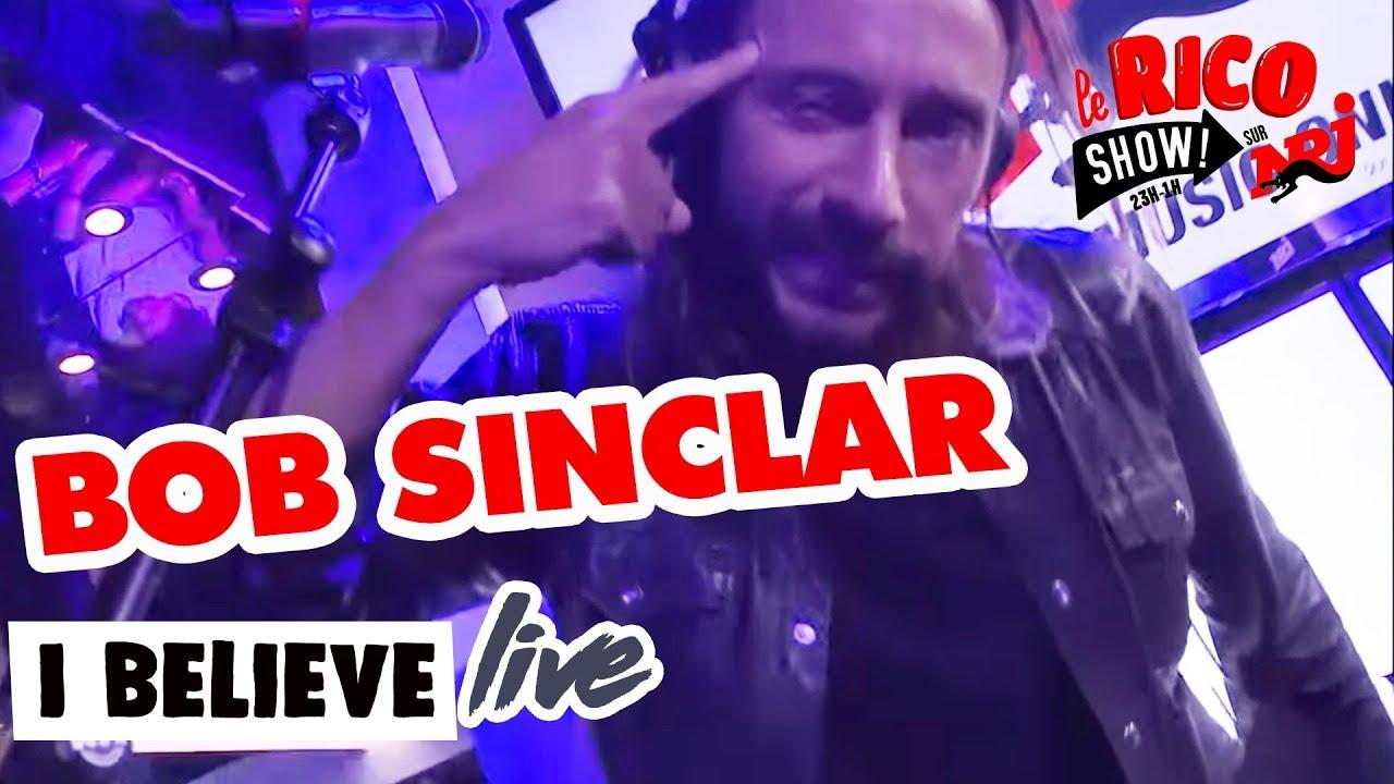 Live de Bob Sinclar dans le RicoShow sur NRJ