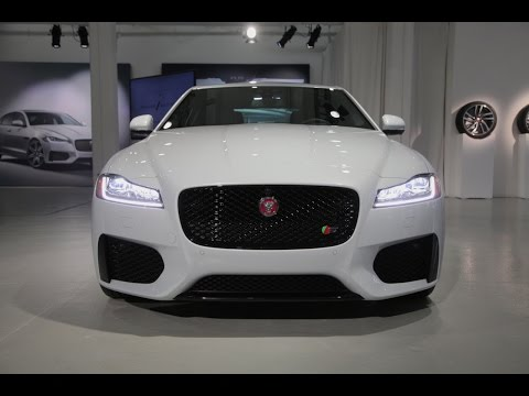 2016 Jaguar Xf First Look 2015 New York Auto Show Youtube