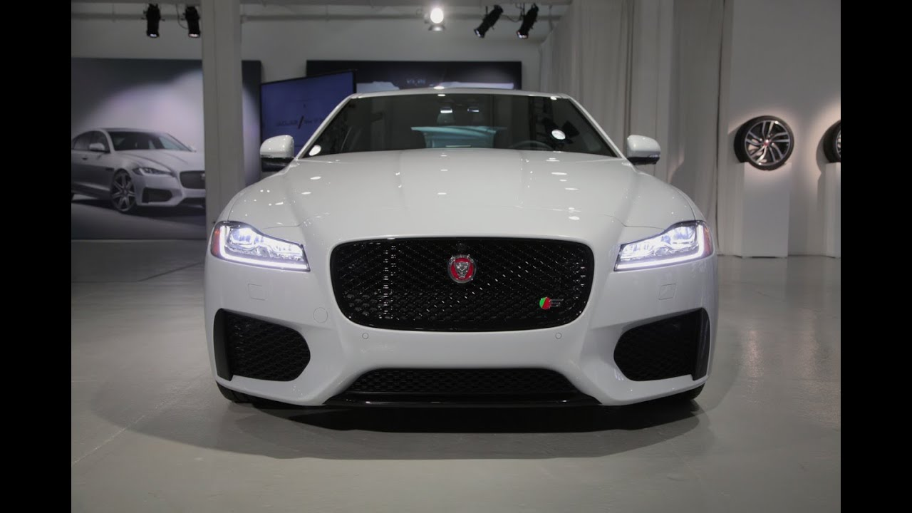 2016 Jaguar XF First Look - 2015 New York Auto Show - YouTube