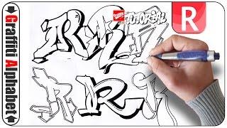 Graffiti Alphabet - Buchstabe R - Letra R - Letter R