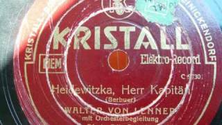 Heidewitzka, Herr Kapitän - Karl Berbuer (1936)
