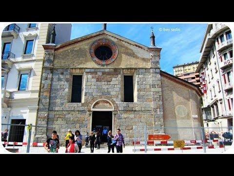 Lugano, Switzerland - The Church of Santa Maria degli Angeli