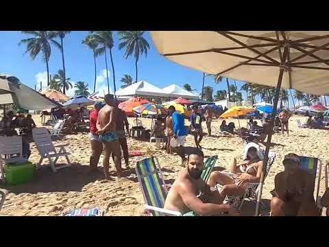 [ MIRAGEM NEWS ] Frescobol Na Praia Causa Indignação Em Moradores Atingidos Pelas Bolas