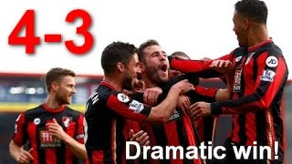 what a match! Liverpool vs Bournemouth 3-4 full highlights all goals