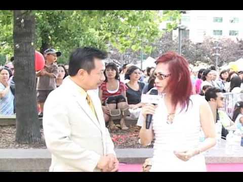 Phong van MC Viet Thao va Helena Ngoc Hong