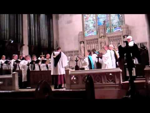 Suffrages, Responses, and Collects at Choral Evensong.  William Byrd (1540 - 1623)
