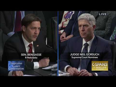 Ben Sasse: Round 2 Questions in Gorsuch Hearing