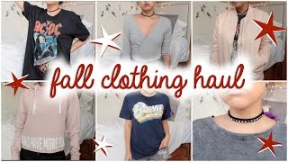 Fall Clothing Haul 2016 ♡ Forever 21, Primark + More!
