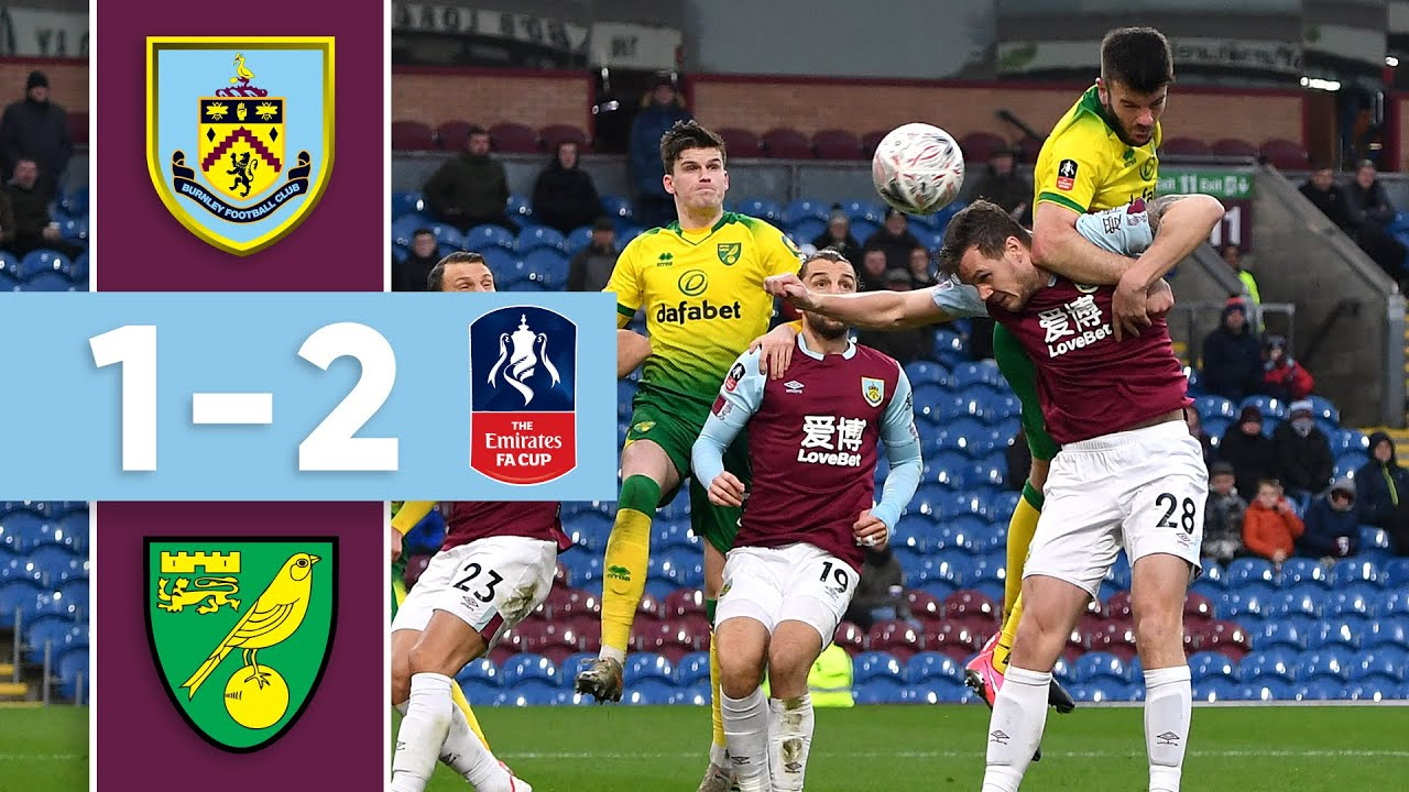 CANARIES END CUP RUN | THE GOALS | Burnley v Norwich FA Cup 2019/20