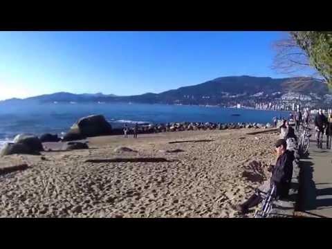 Sea Wall Walk Vancouver: Jogging by Noel Oco