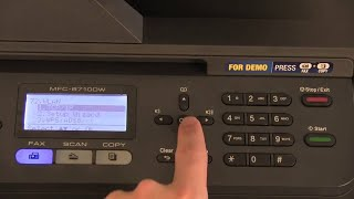 Installing Brother Printer using Wireless Network Connection