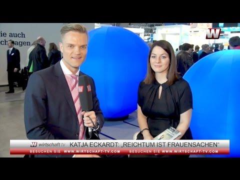 """Katja Eckardt: """"Reichtum ist Frauensache. Werde eine Finanz-Diva"""""""