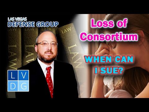 """""""Loss of Consortium"""" in Nevada – When can I sue for it?"""