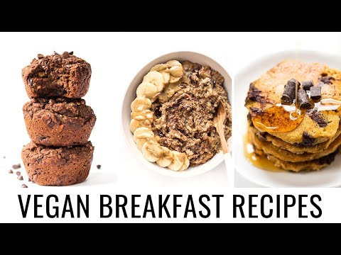 IRRESISTIBLE CHOCOLATE BREAKFAST RECIPES | allergy-friendly + vegan