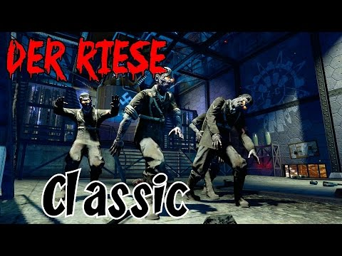 DER RIESE: The Classics NEVER Die!▐ Call of Duty World at War Zombies Map