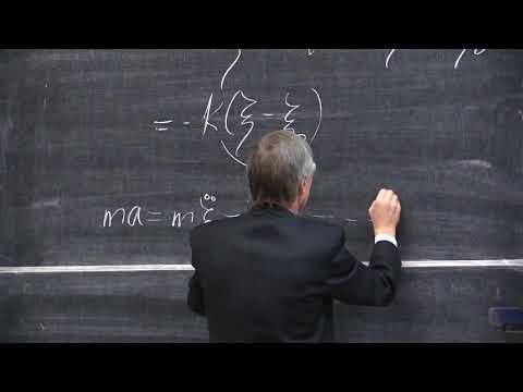 Слепков А. И.  -  Механика  - Колебания: свободные, затухающие  (Лекция 15)