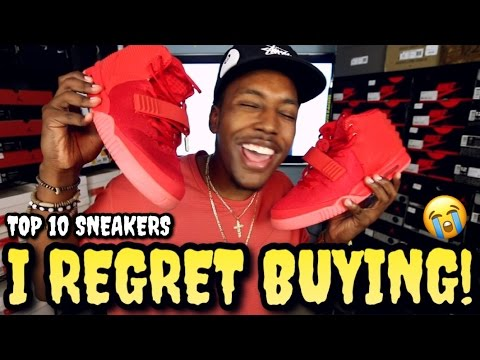 Thumbnail: TOP 10 SNEAKERS I REGRET BUYING!!!