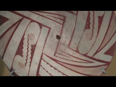 Mimbres Ceramics, Cantor Arts Center, Palo Alto, California.MP4