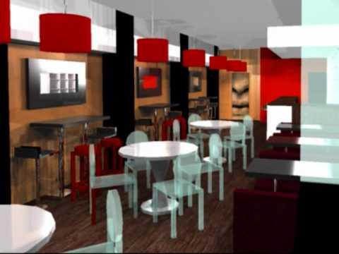 Decoração De Bares E Restaurantes (Bars And Restaurants Interior Design) #3    YouTube