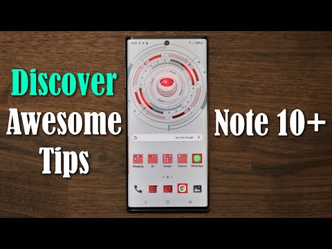 Galaxy Note 10 Plus Discover 5 Awesome Tips and Tricks