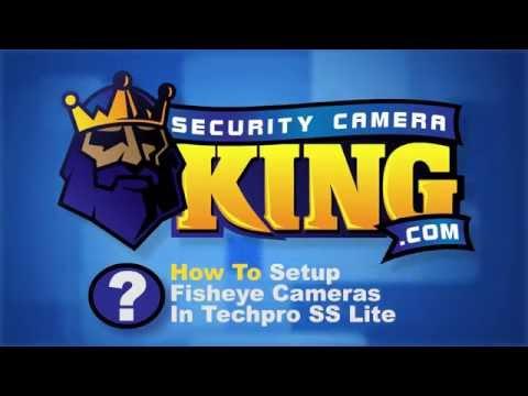 How To Setup Fisheye Camera In Techpro SS App