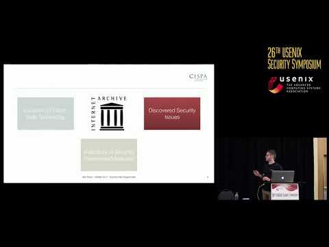 USENIX Security '17 - How the Web Tangled Itself