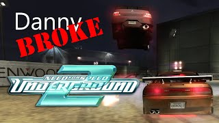 Danny Broke... Need for Speed: Underground 2 [Flying Car]