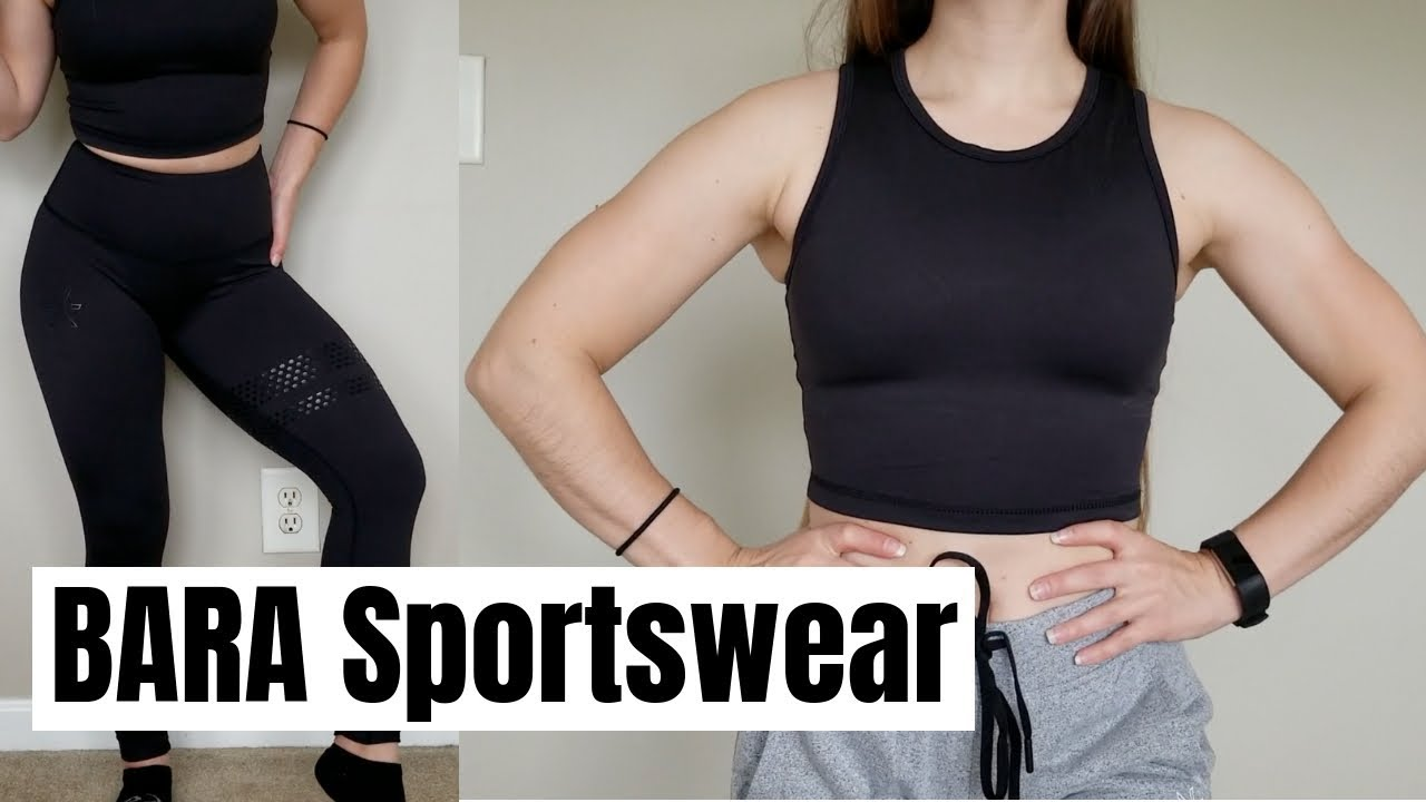 566a62ce15977 BARA Sportswear Try-On & Review (Short Height) - YouTube