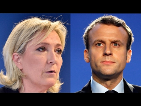 French presidential election: Comparing Macron and Le Pen