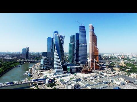 Dji PHANTOM 3 Professional Moscow City 4К VIDEO