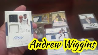 Andrew Wiggins - 2 cards added to my collection - Mailday