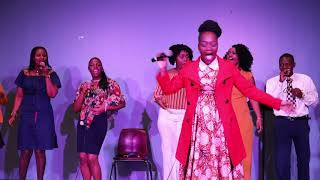Angel Benard - Huyu Yesu live at Swahili Worship Night- Houston Texas