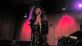 "Crystal Kay performing an acoustic version of ""恋におちたら"" (""Koi ..."