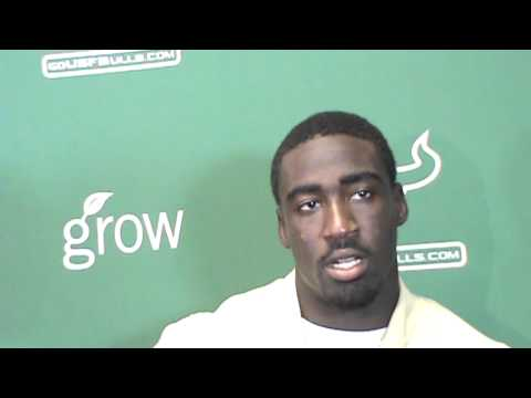 USF CB Kayvon Webster talks Nevada