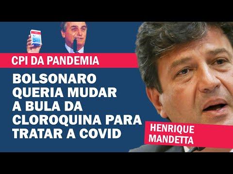 HENRIQUE MANDETTA: ALERTEI BOLSONARO SOBRE NÚMERO DE MORTES PREVISTOS NA PANDEMIA   Cortes 247