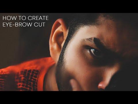 Eyebrow Slits: How To Create Cut On Eye Brow In Photoshop CC