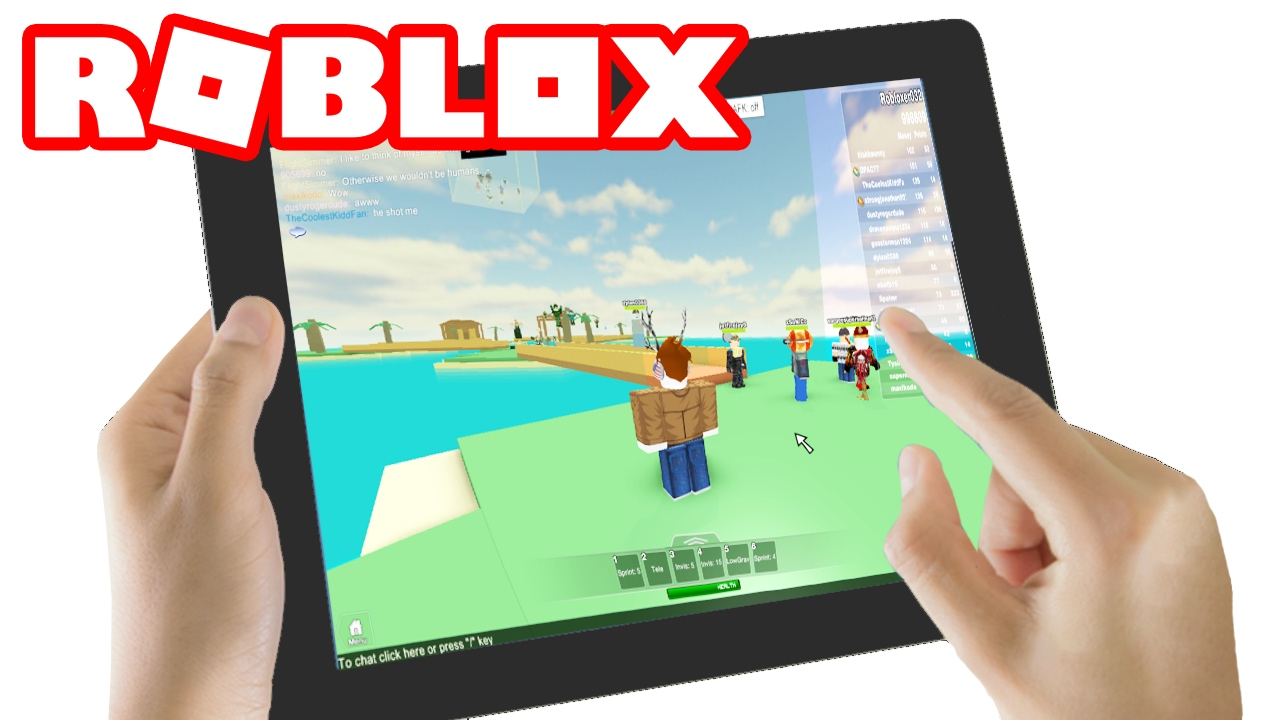 Playing Roblox Mobile Edition Youtube