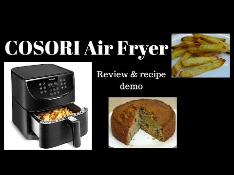 COSORI AIR FRYER - Review and Recipe Demo
