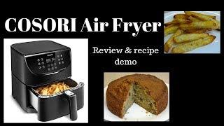cosori premium super size air fryer- Review and Recipe Demo