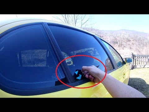 How To Remove Stickers From Car Window >> Pov Diy How To Remove Sticker From Car Window