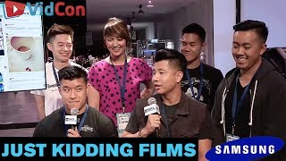 "Just Kidding Films - ""Professional Goofballs"" 