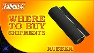 Fallout 4 - How to Find Shipments of Rubber Guide Complete Material Guide