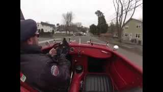 All-out Healey Bugeye Sprite race car converted to urban warrior