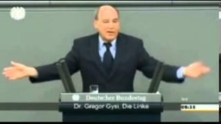 Грегор Гизи, Фракция Левых, Бундестаг, Германия - Кризис на Украине, Только дипломатический путь.