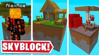 ALL OF MINECRAFT BUT IN ONE SKYBLOCK MAP..