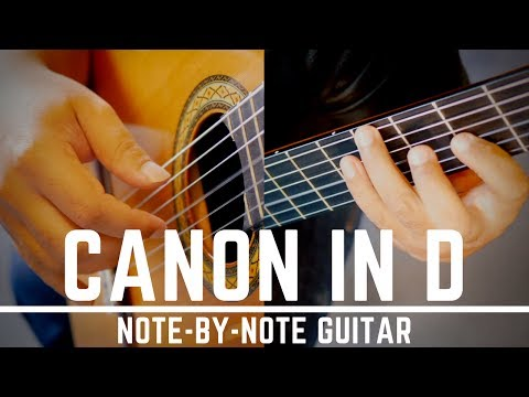 Canon in D | Pachelbel's Canon | Full Play-through | Classical Guitar