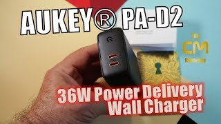 Aukey PD-D2 Test: Power Delivery 3.0 Charger - Hands-on (Deutsch, en...