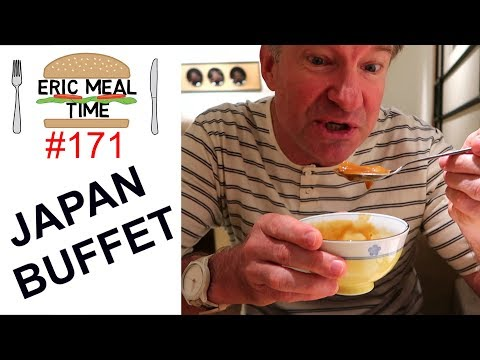 JAPAN BUFFET All-You-Can-Eat : Eric Meal Time #171