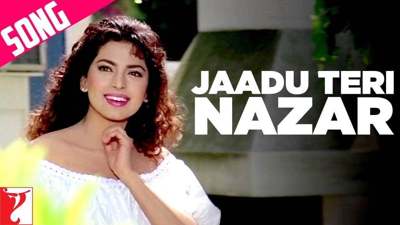 Jaadu Teri Nazar Darr Shah Rukh Khan Juhi Chawla Sunny Deol Udit Narayan Hindi Old Song Youtube